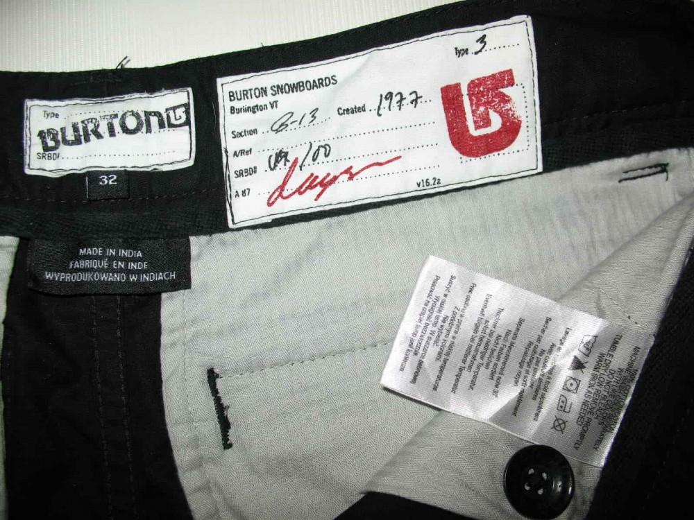 Шорты BURTON cargo shorts (размер 32/M) - 6