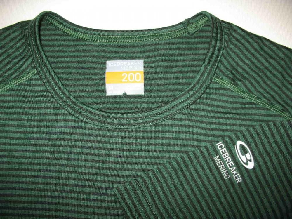 Термобелье ICEBREAKER merino 200 green jersey (размер M) - 2
