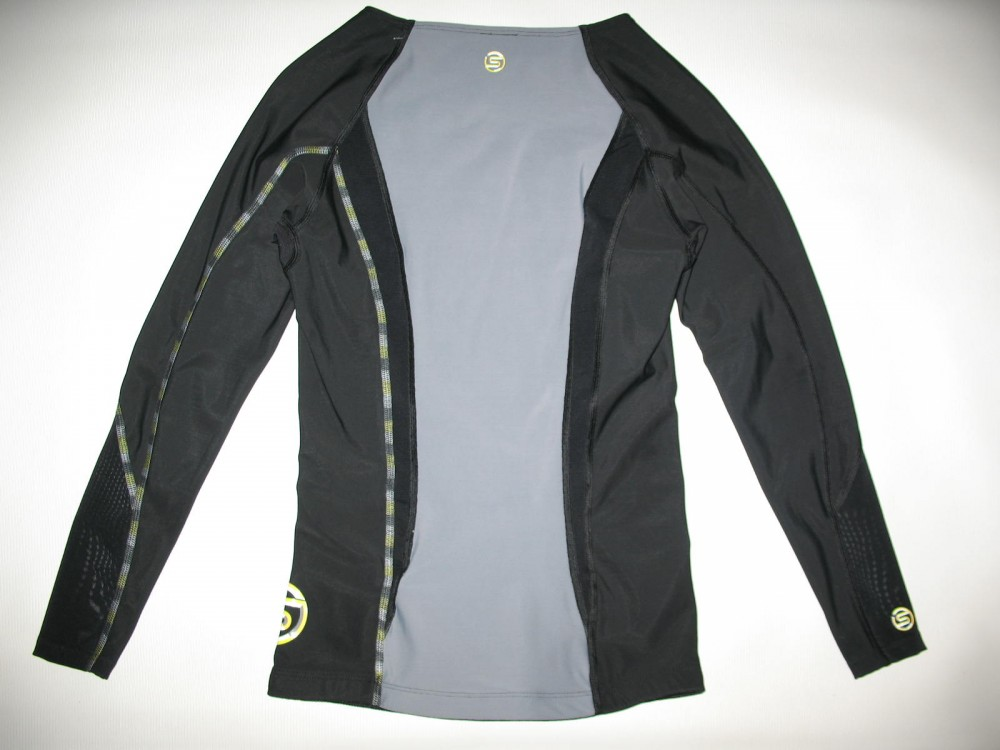 Футболка SKINS DNAmic compression long sleeve top lady (размер M) - 3