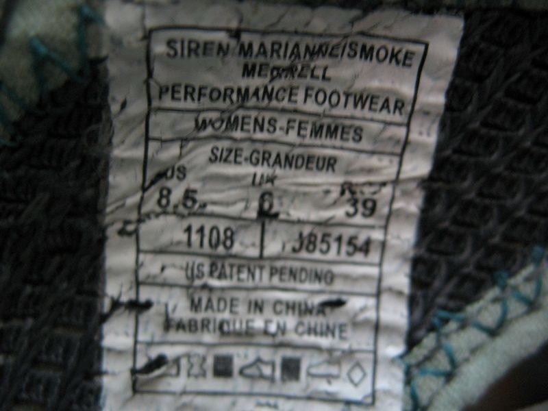 Сандали MERRELL Siren Marianne lady (размер US 8, 5/UK6/EU39(245 mm)) - 10