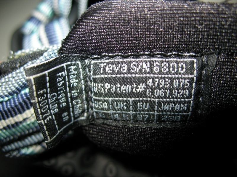 Сандали TEVA Terra Fi2 Sandal lady  (размер US 6/UK4, 5/EU37(230mm)) - 8