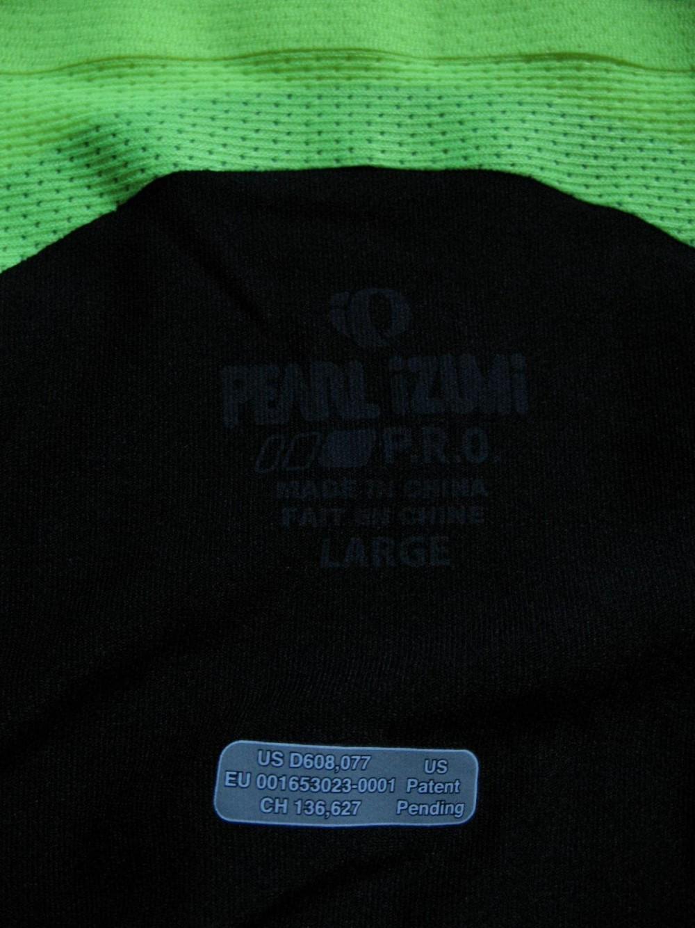 Веломайка PEARL IZUMI p.r.o. leader short sleeve jersey (размер L) - 9