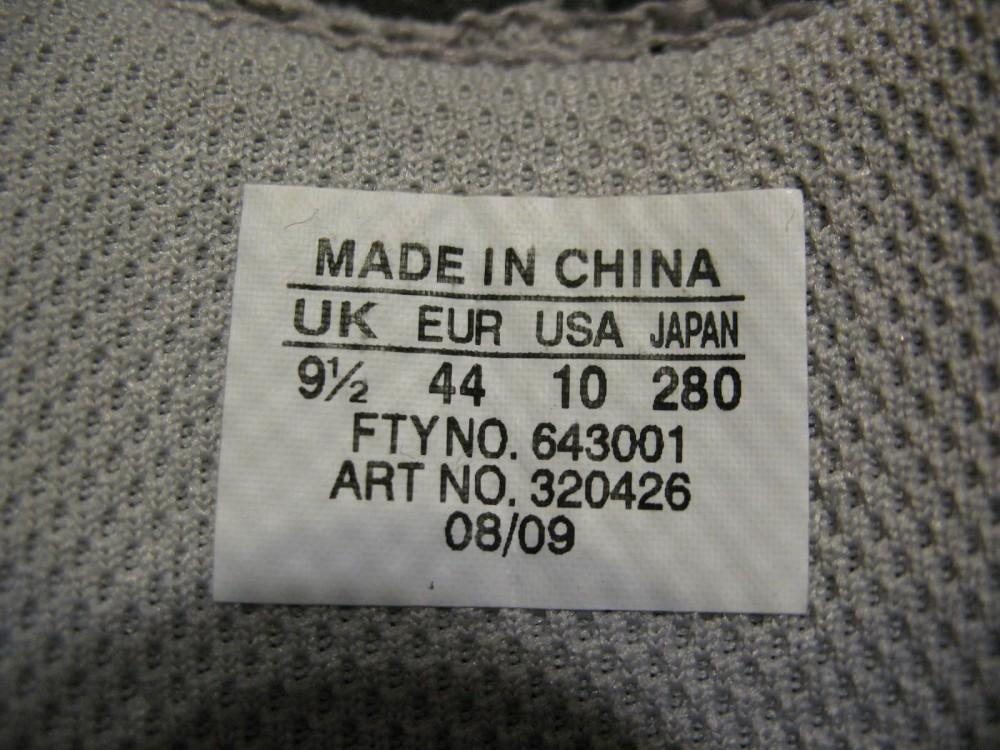 Велотуфли MAVIC peloton road shoes (размер US10/UK9,5/EU44(на стопу 280 mm)) - 9