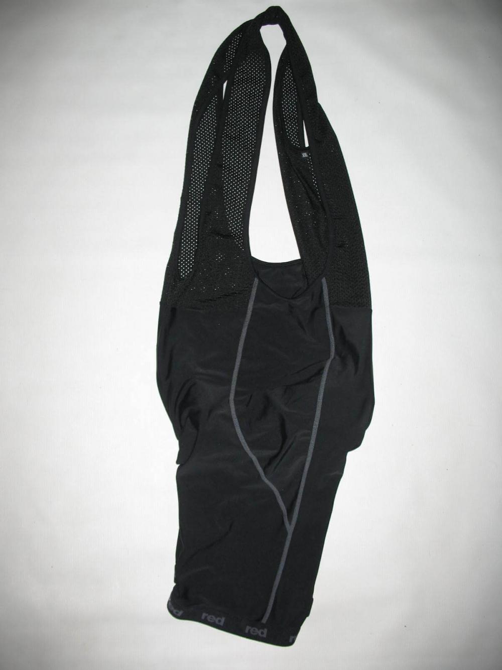 Велотрусы RED bib shorts (размер XXL) - 2