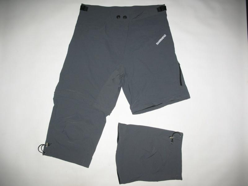 Шорты SHIMANO 3/4 mountain bike shorts lady(размер L) - 2