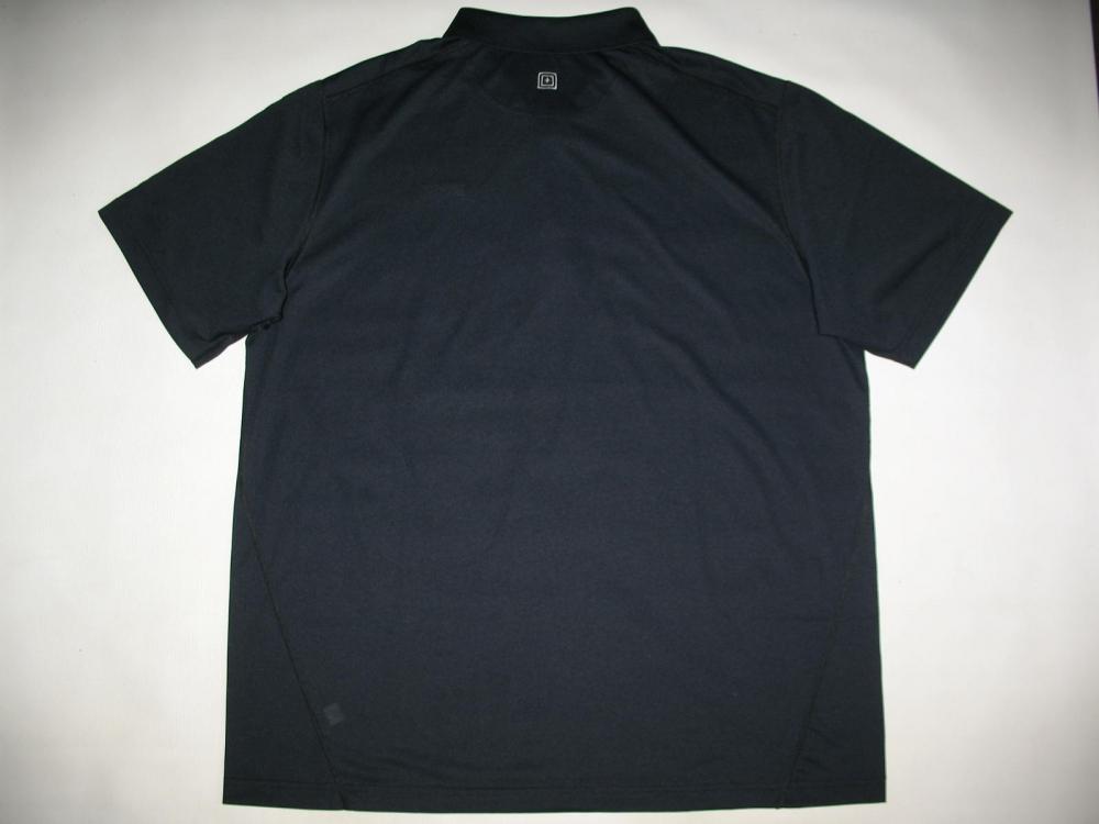 Футболка 5.11  tactical professional pinnacle navy short sleeve polo jersey - 3