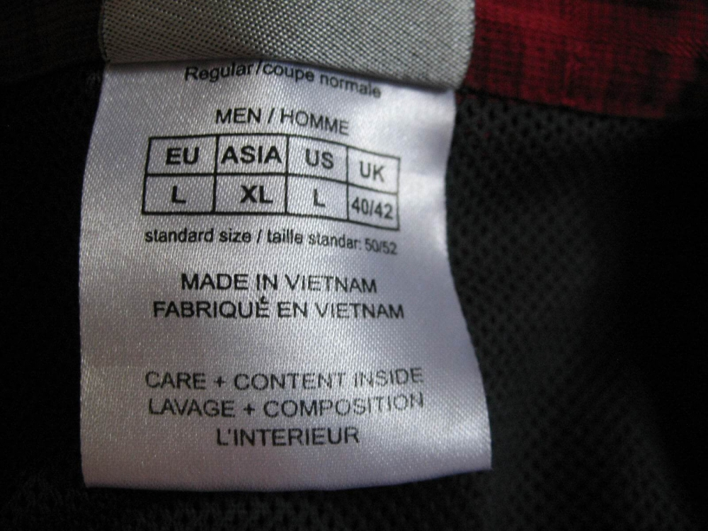 Рубашка JACK WOLFSKIN Diamond Bay Mosquito Shirt (размер 50/52-L/XL) - 6