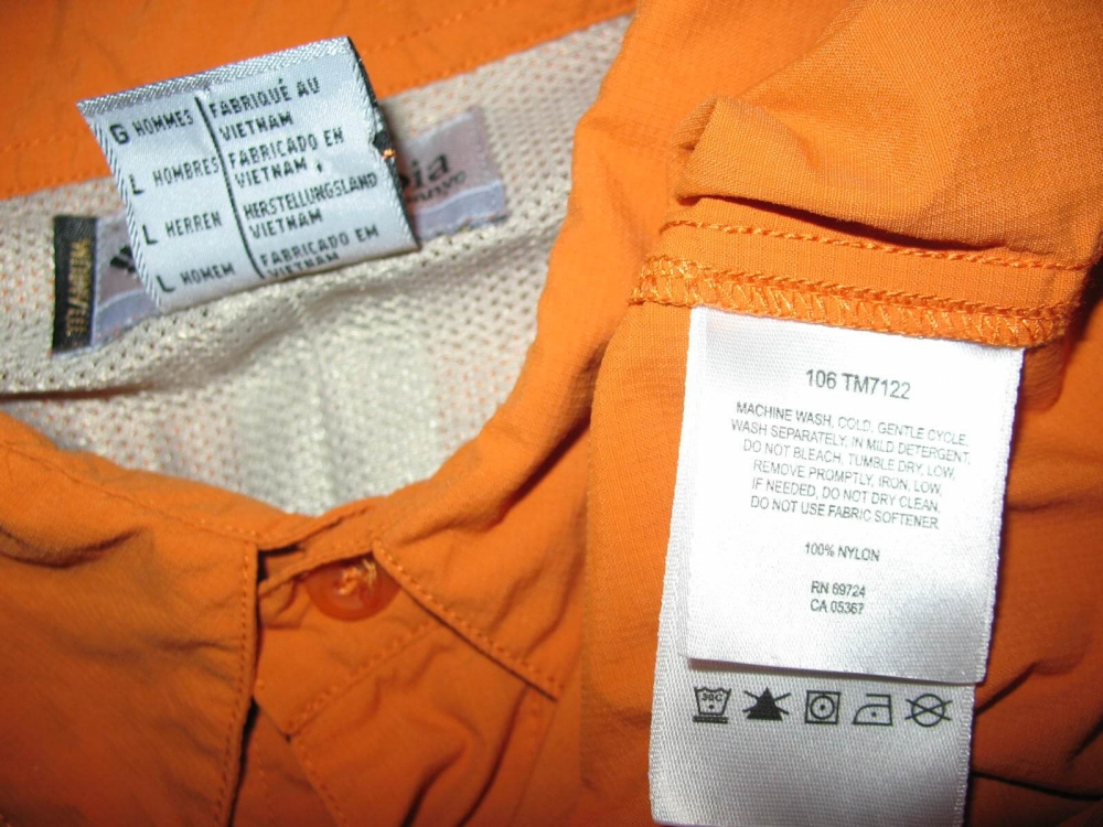 Рубашка COLUMBIA titanium shirts (размер L/XL) - 5