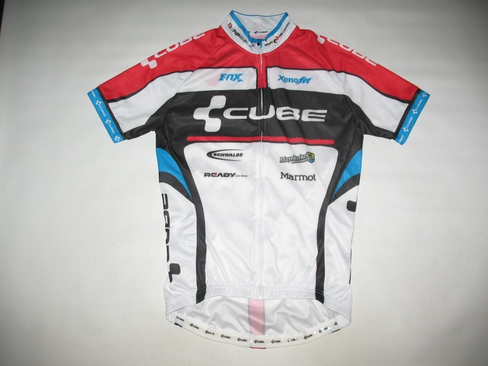 Веломайка CUBE teamline jersey (размер S) - 1