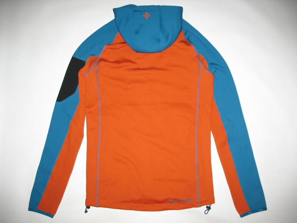 Кофта KILPI yoho-m fleece hoodies jacket (размер S) - 4