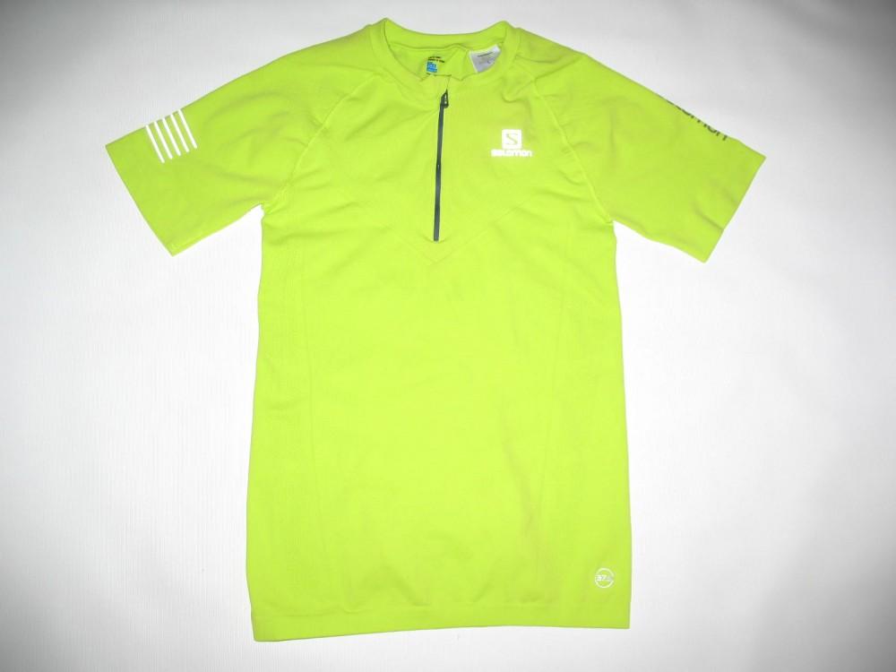 Футболка SALOMON exo motion ss jersey (размер L) - 3