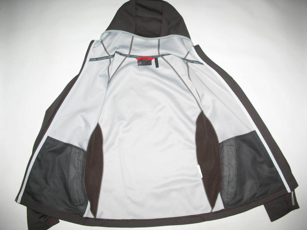 Куртка MAMMUT fleece hoodie jacket lady (размер M) - 5