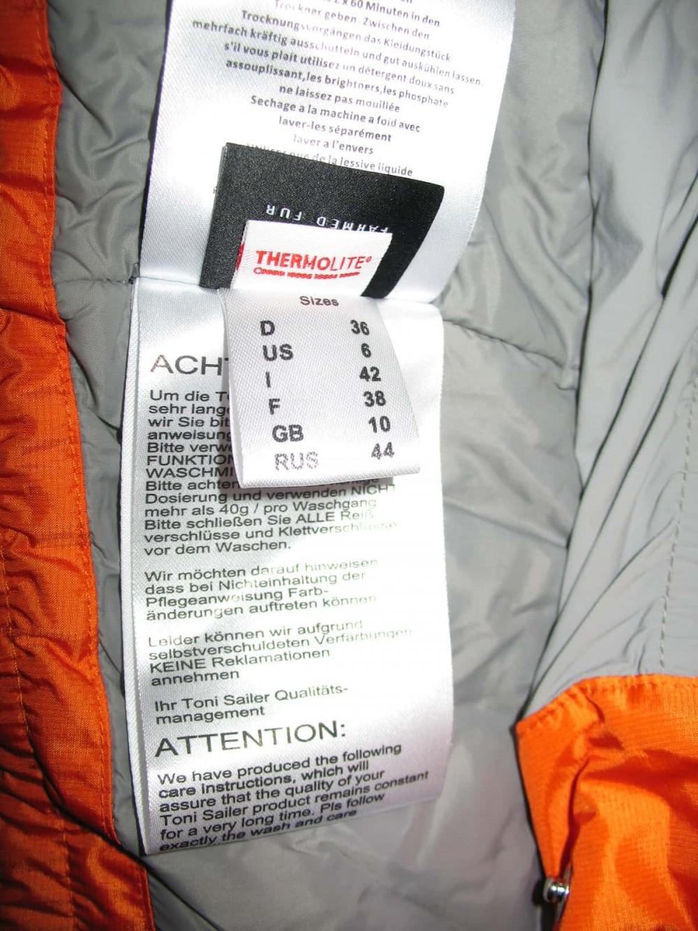 Куртка TONI SAILER clementine quilted ski jacket lady (размер 36/S) - 11