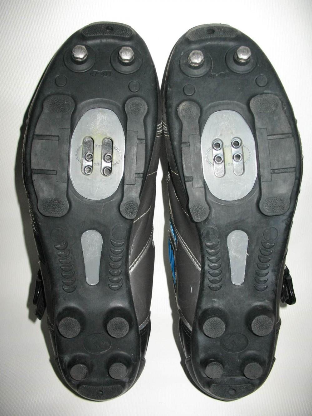 Велотуфли SHIMANO sh-m180g mtb bike shoes (размер UK12,5/EU47(на стопу до 298 mm)) - 7