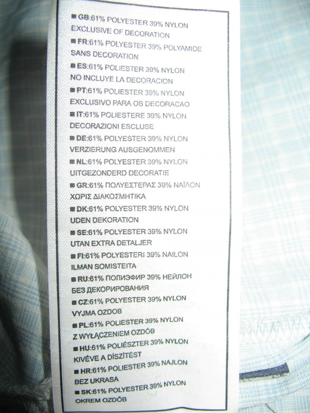 Рубашка NIKE acg dri fit shirt (размер XL/XXL) - 7