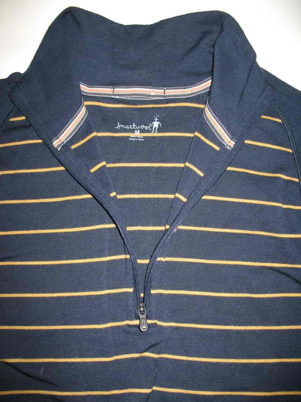 Кофта SMARTWOOL merino 250 base layer 1/4 zip navy jersey (размер М) - 4