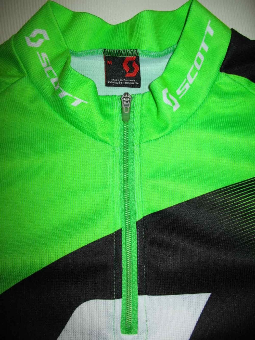 Веломайка SCOTT authentic green cycling jersey (размер M) - 3
