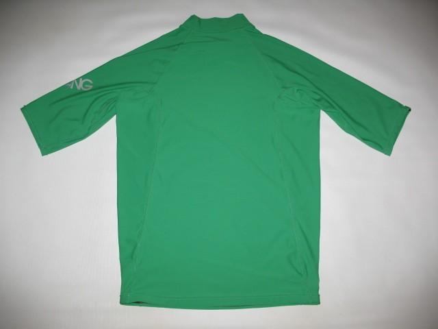 Футболка BILLABONG intersection ss green rashguard (размер XL) - 2