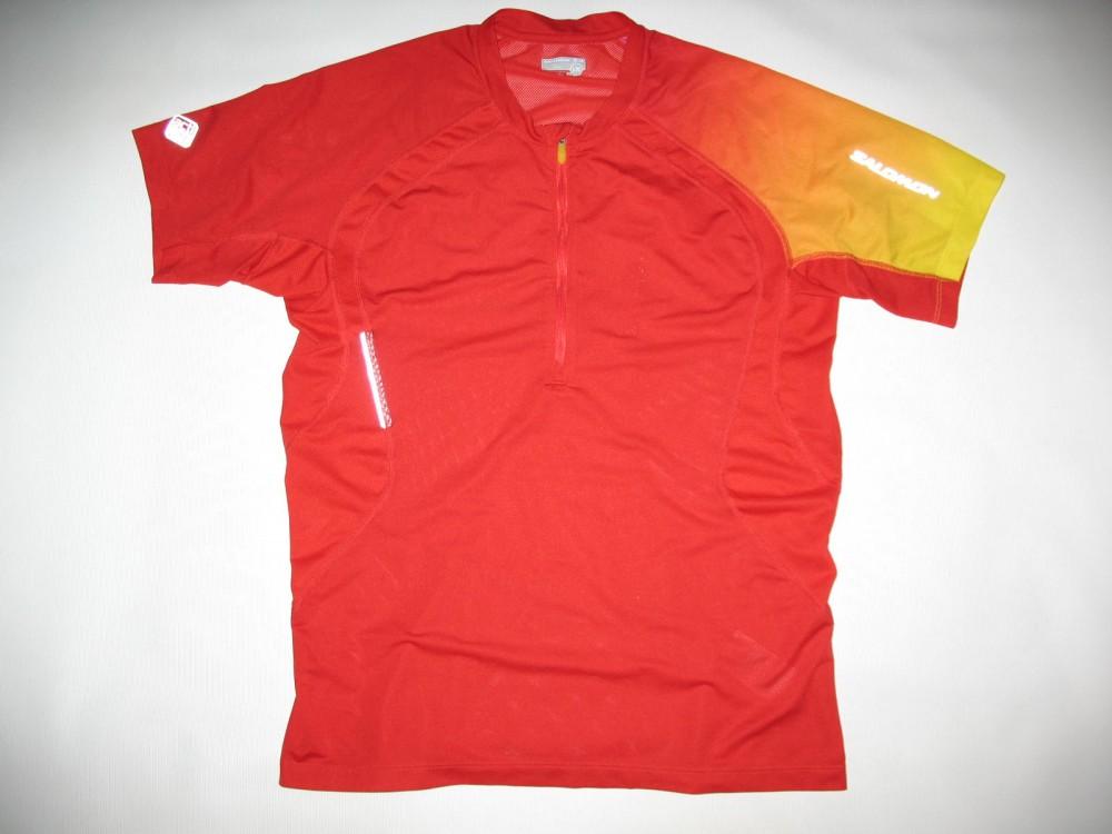 Футболка SALOMON actilite trail run jersey (размер L) - 1