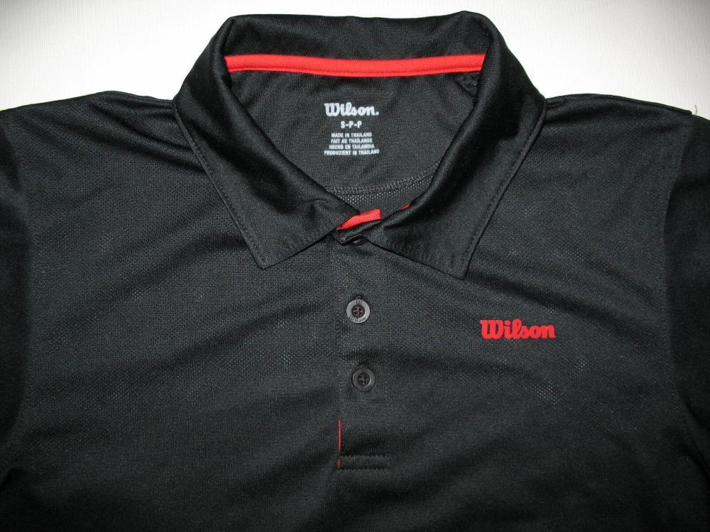 Футболка WILSON tennis polo shirt (размер S) - 3