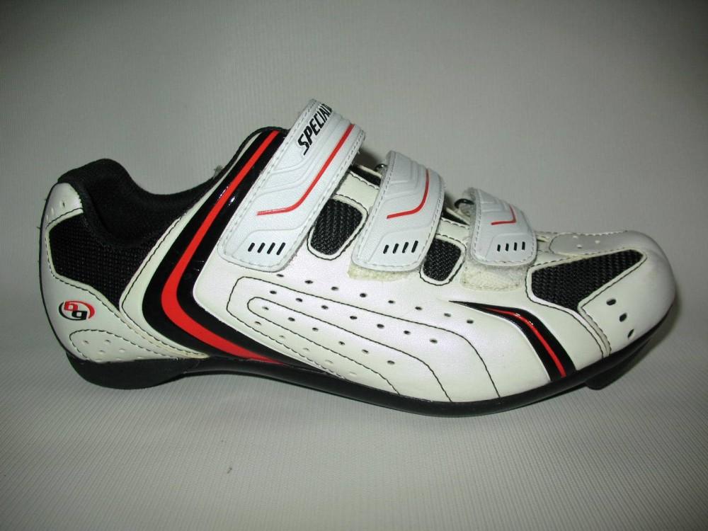 Велотуфли SPECIALIZED sport road white shoes (размер EU41(на стопу до 260 mm)) - 5