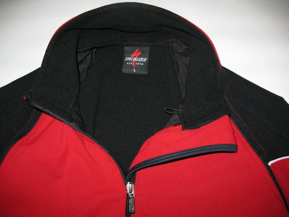 Велокуртка SPECIALIZED 2in1 windstopper cycling jacket (размер L(реально M/S) - 4