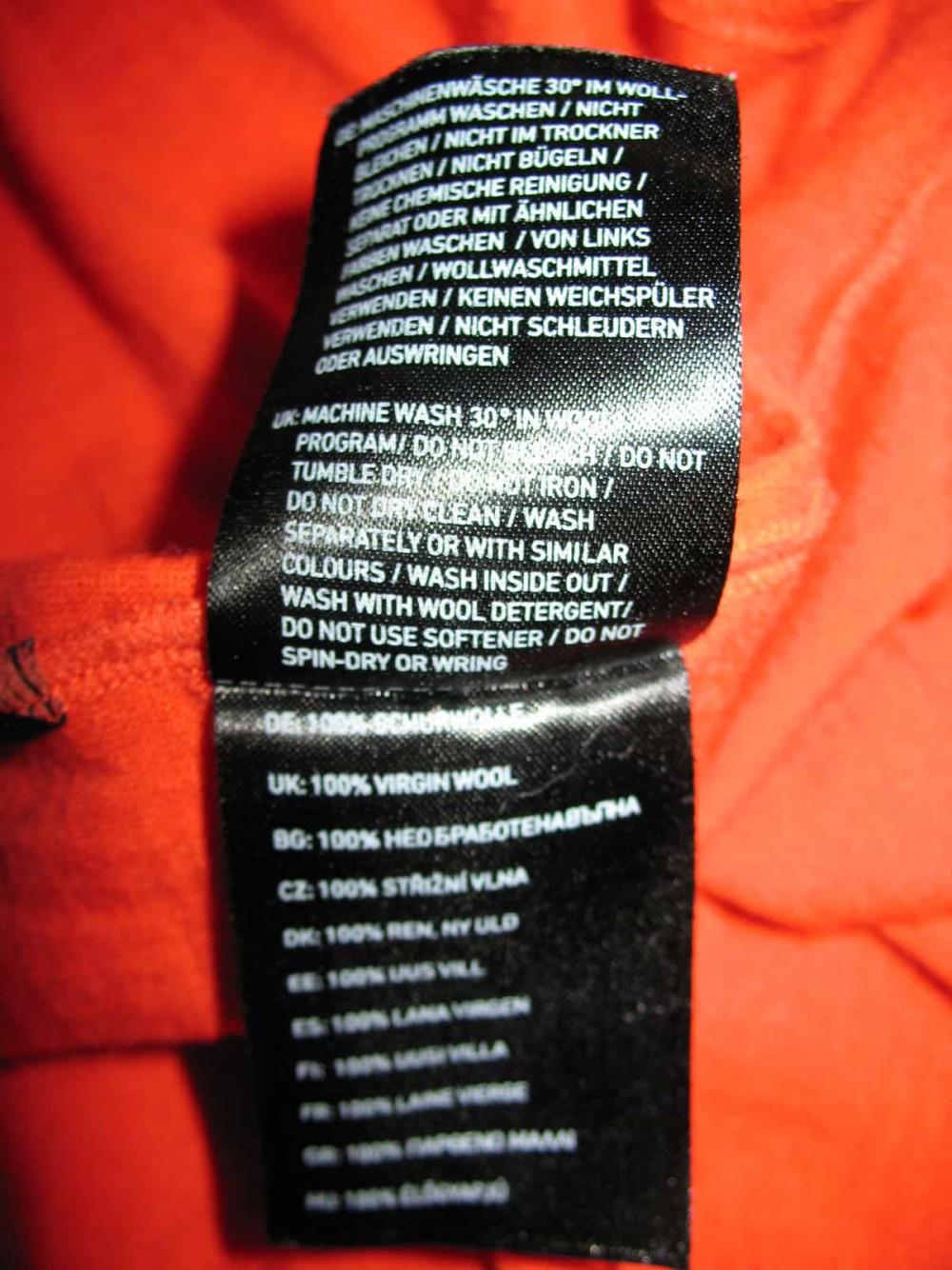 Футболка ORTOVOX rock'n'wool short sleeve jersey (размер М) - 6