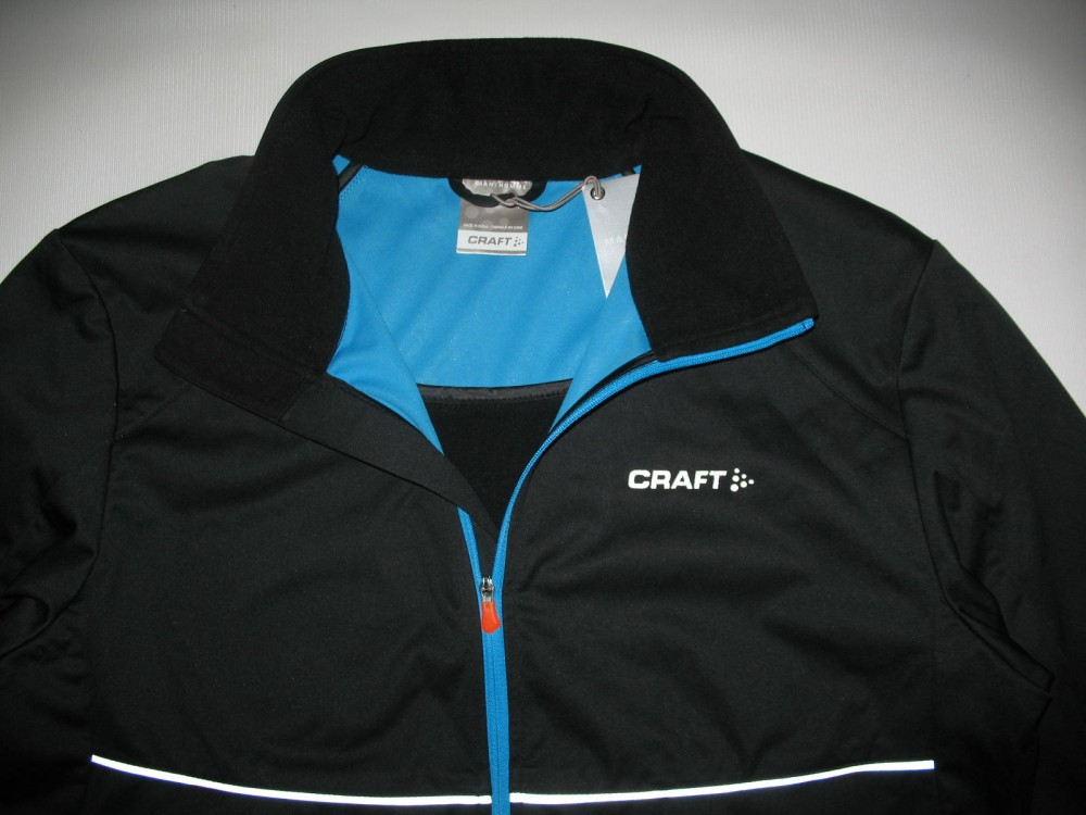 Куртка CRAFT pxc light softshell black jacket (размер M) - 3