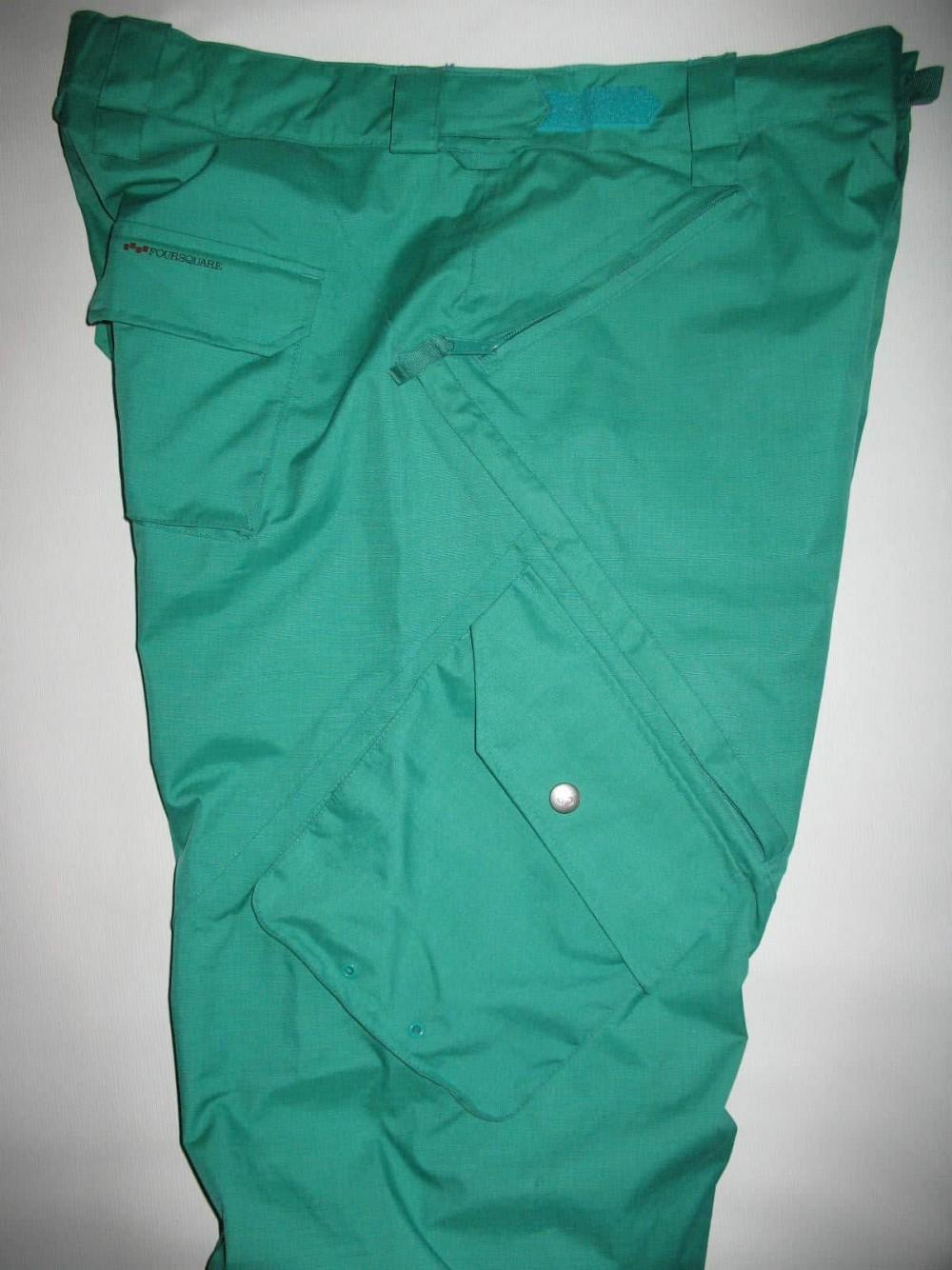 Штаны FOURSQUARE q snowboard pants (размер XL) - 5