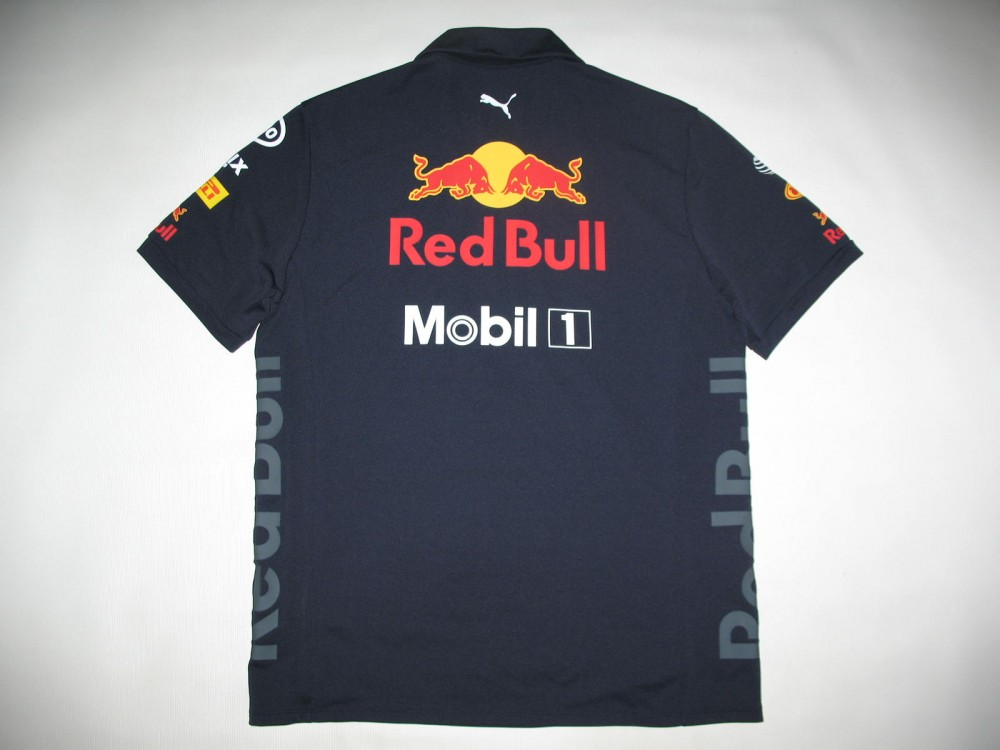 Поло PUMA aston martin red bull racing 18 polo jersey (размер M) - 3