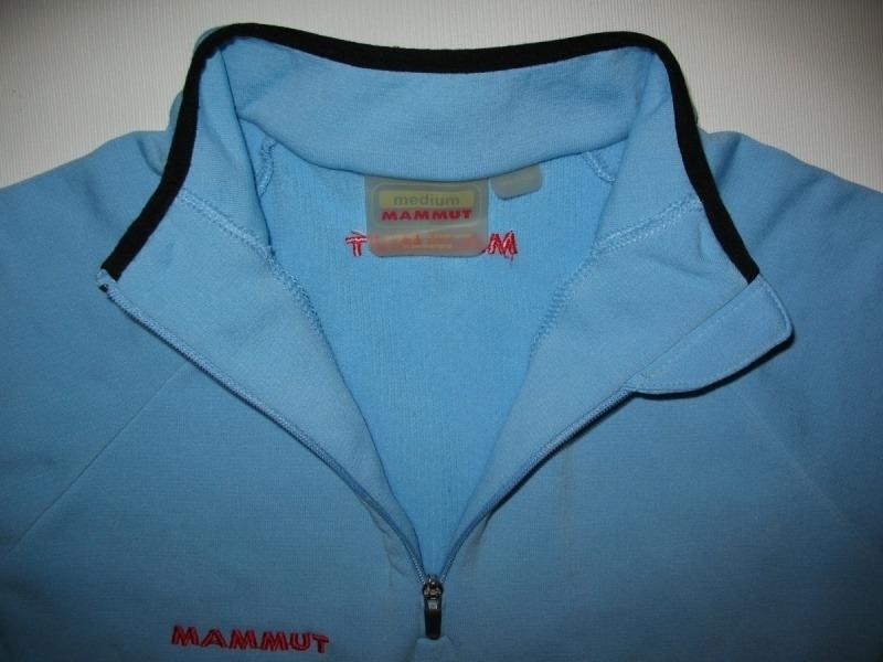 Футболка MAMMUT fleece short sleeves lady (размер M/S) - 2