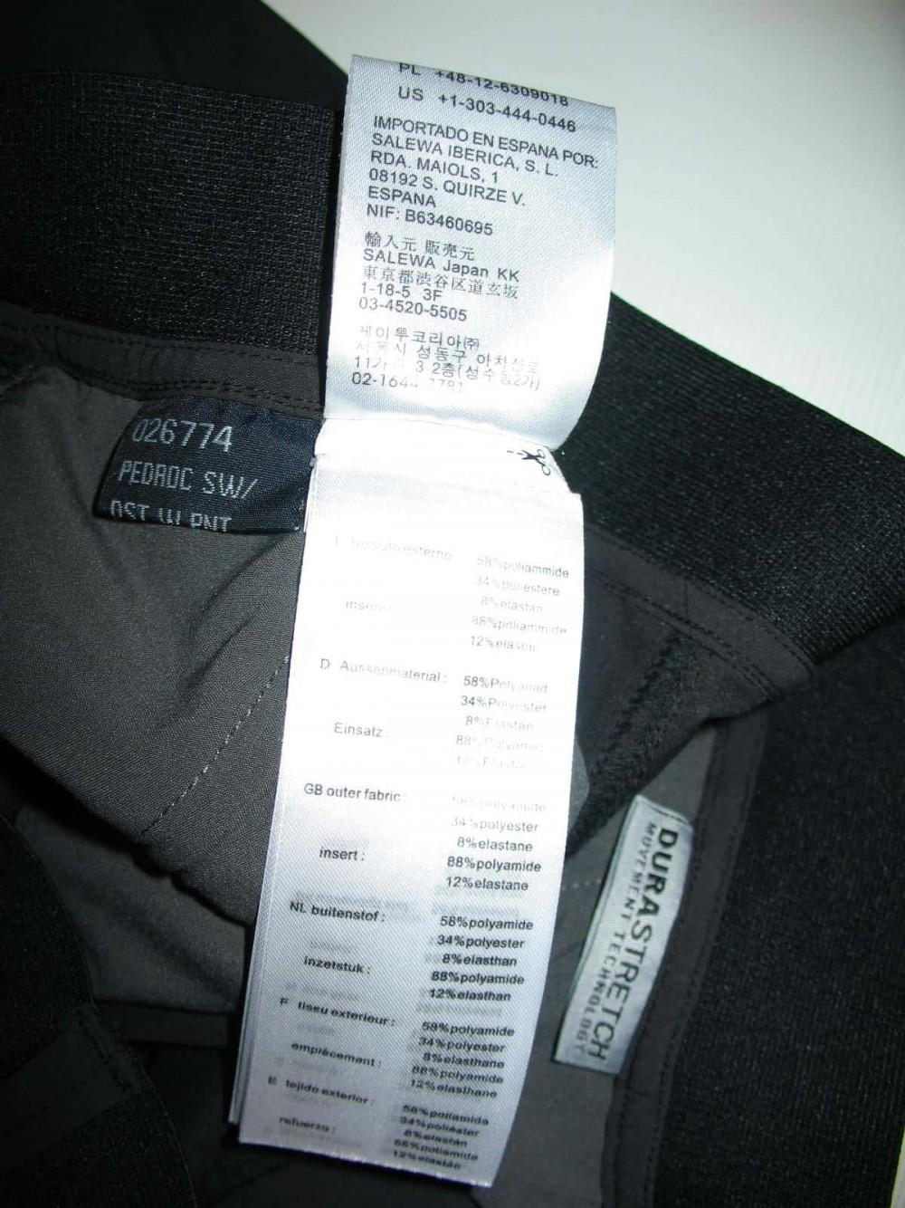 Штаны SALEWA pedroc pants lady (размер 36/S) - 7