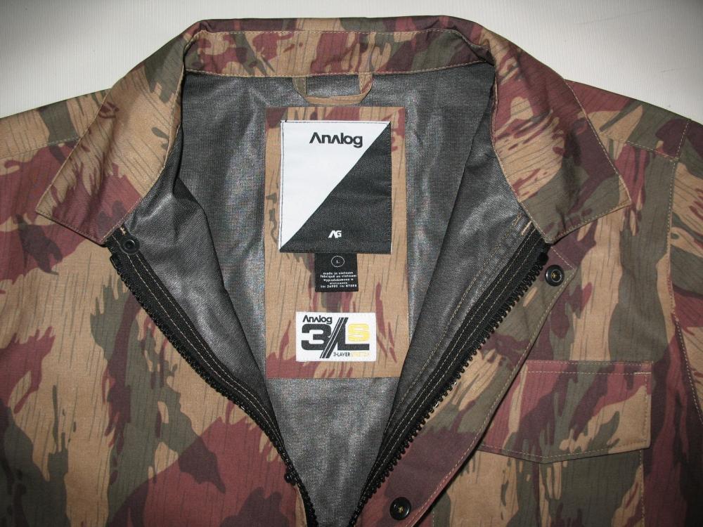 Куртка ANALOG foxhole jacket (размер L) - 4