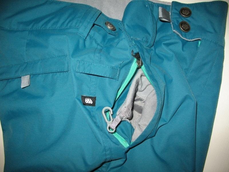 Штаны 686 snowboard pants lady (размер S) - 8