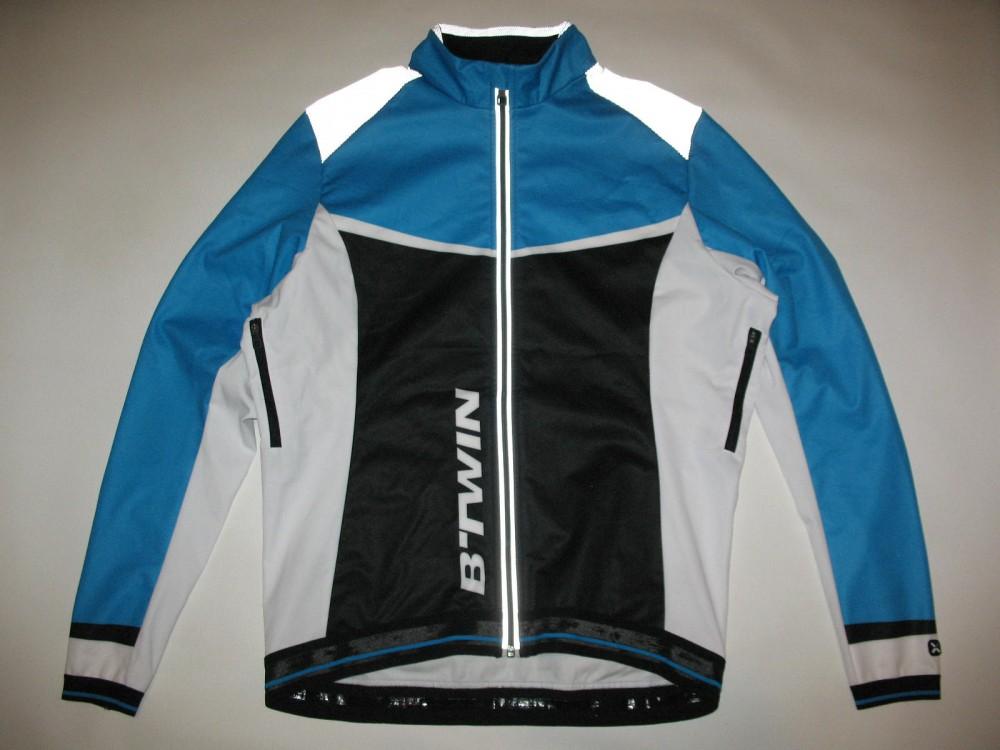 Велокуртка B'TWIN windblock 500 bike jacket (размер 52-54/L-XL) - 12