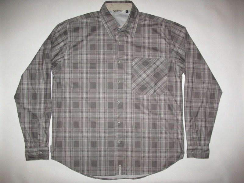 Рубашка SALEWA diamond shirt  (размер M) - 2