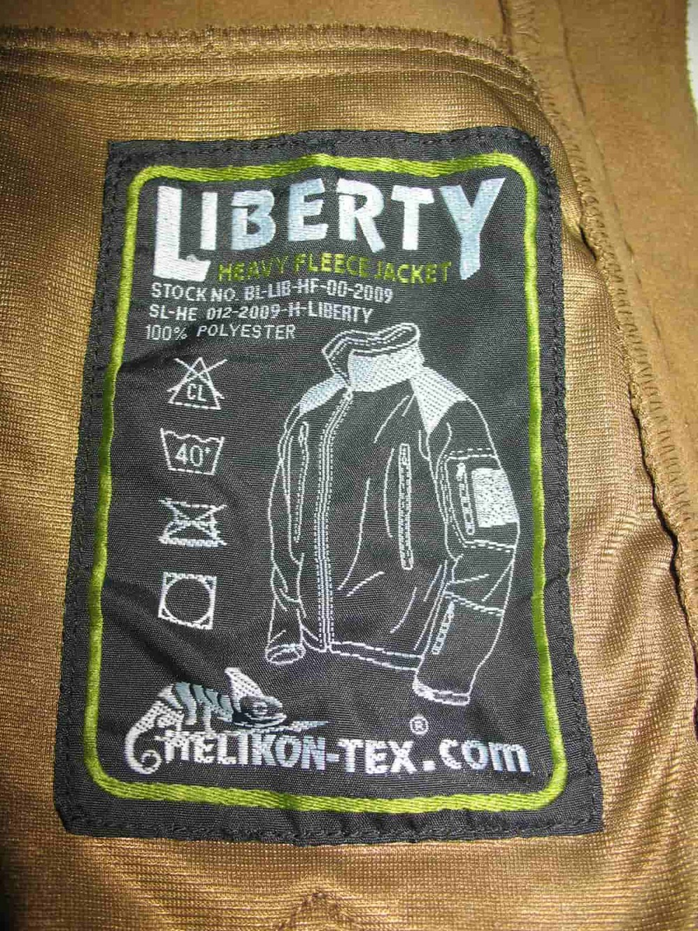Куртка HELIKON TEX liberty heavy fleece jacket (размер XXL) - 11