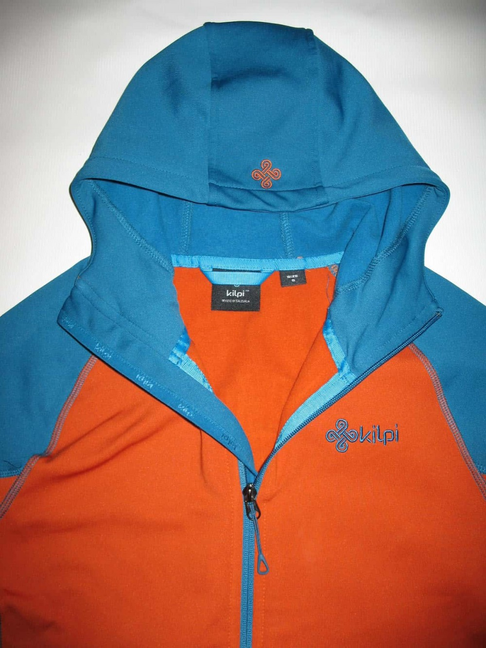 Кофта KILPI yoho-m fleece hoodies jacket (размер S) - 7