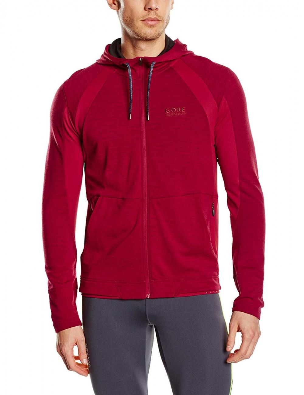 Кофта GORE running wear hooded running jacket (размер XXL) - 4