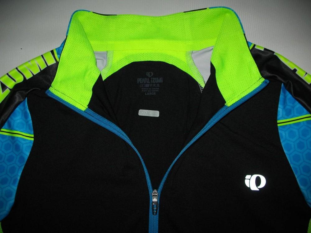 Веломайка PEARL IZUMI p.r.o. leader short sleeve jersey (размер L) - 5