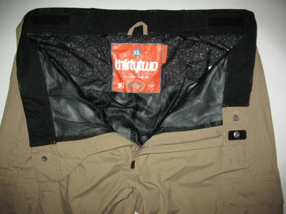 Штаны 32THIRTYTWO shilooh snowboard pants (размер XL) - 10