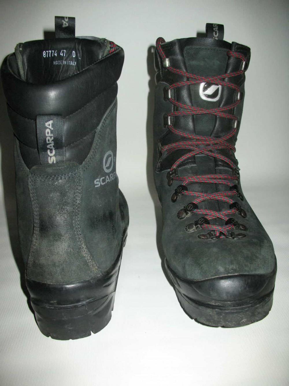 Ботинки SCARPA fuego boots (размер EU47(на стопу 300mm)) - 4