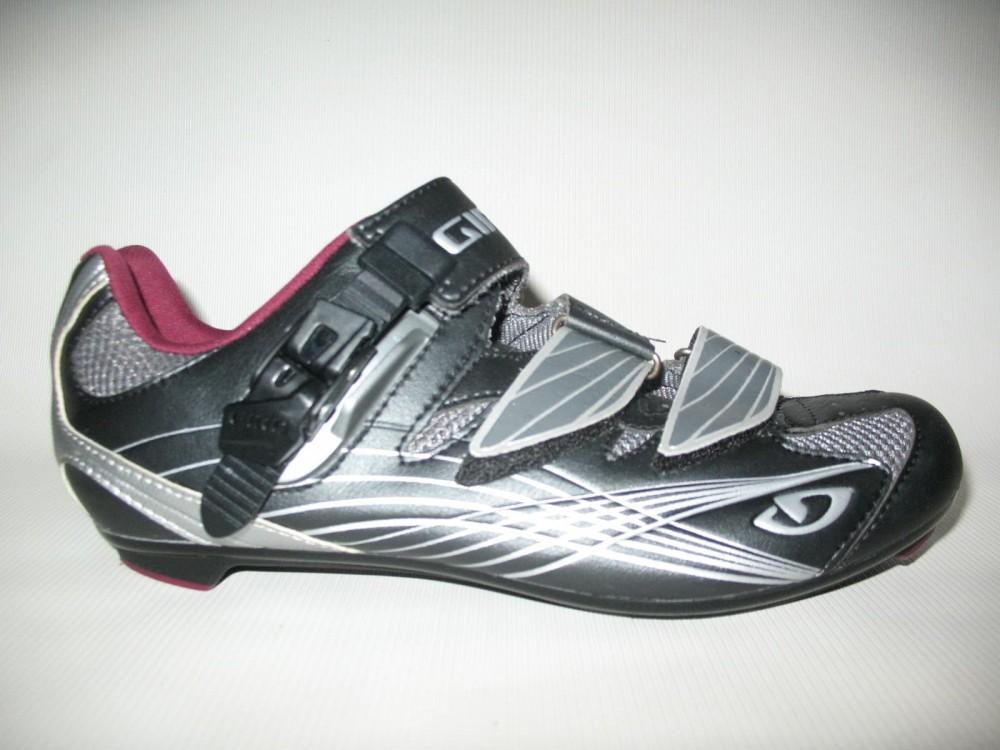 Велотуфли GIRO solara road shoes lady (размер US8/UK6/EU40(на стопу 250 mm)) - 2