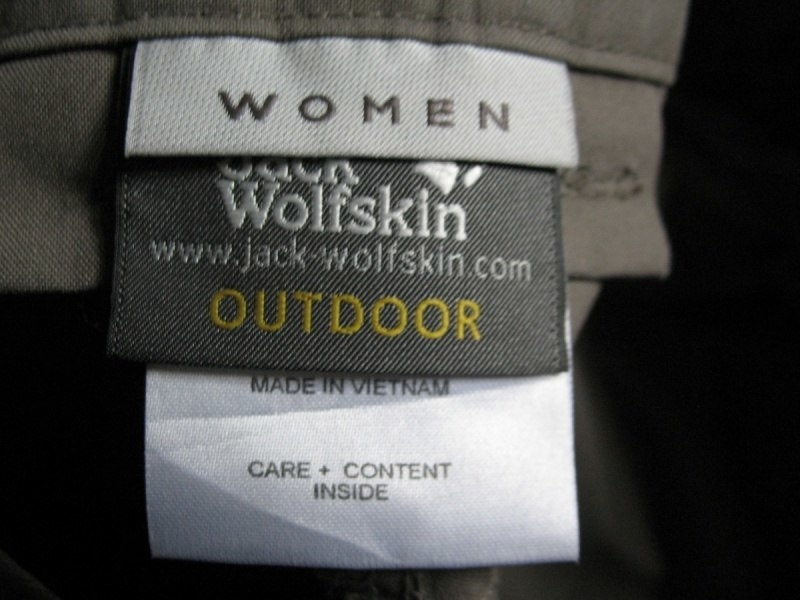 Штаны  JACK WOLFSKIN northpants lady  (размер М/L) - 11