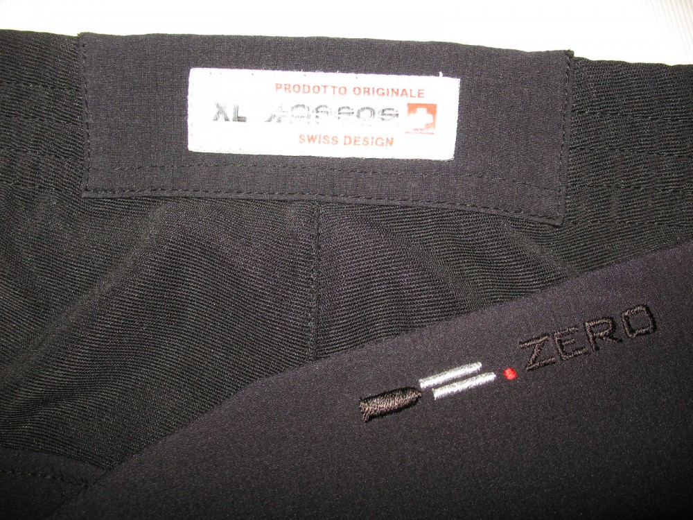 Велоштаны ASSOS db zero track cycling pants (размер XL) - 4