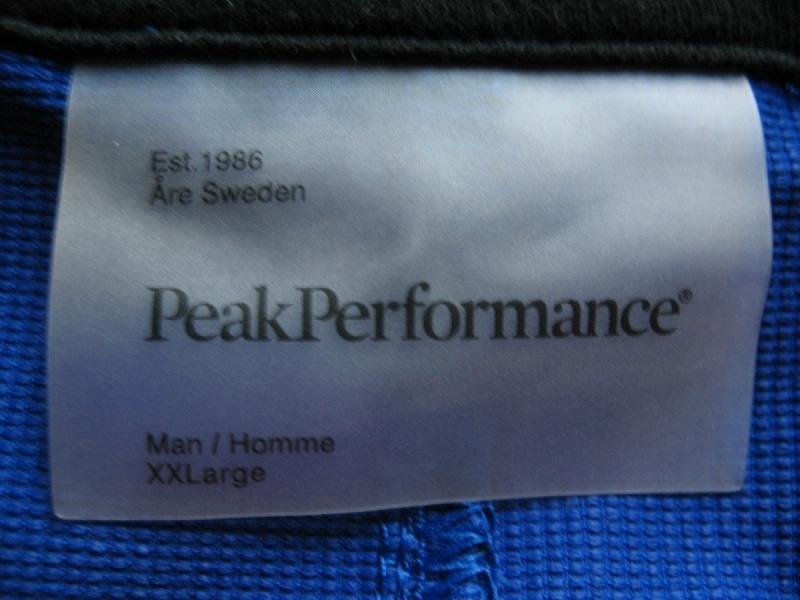 Шорты PEAK PERFOMANCE waikato shorts (размер XXL) - 13