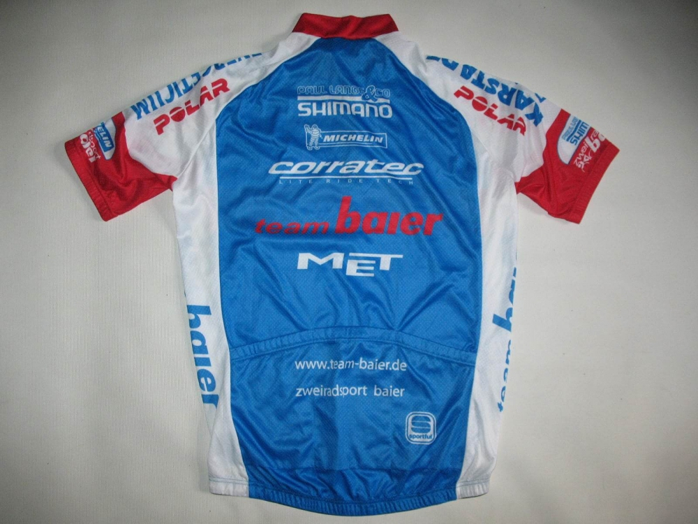 Веломайка SPORTFUL team baier cycling jersey (размер XL/L) - 7
