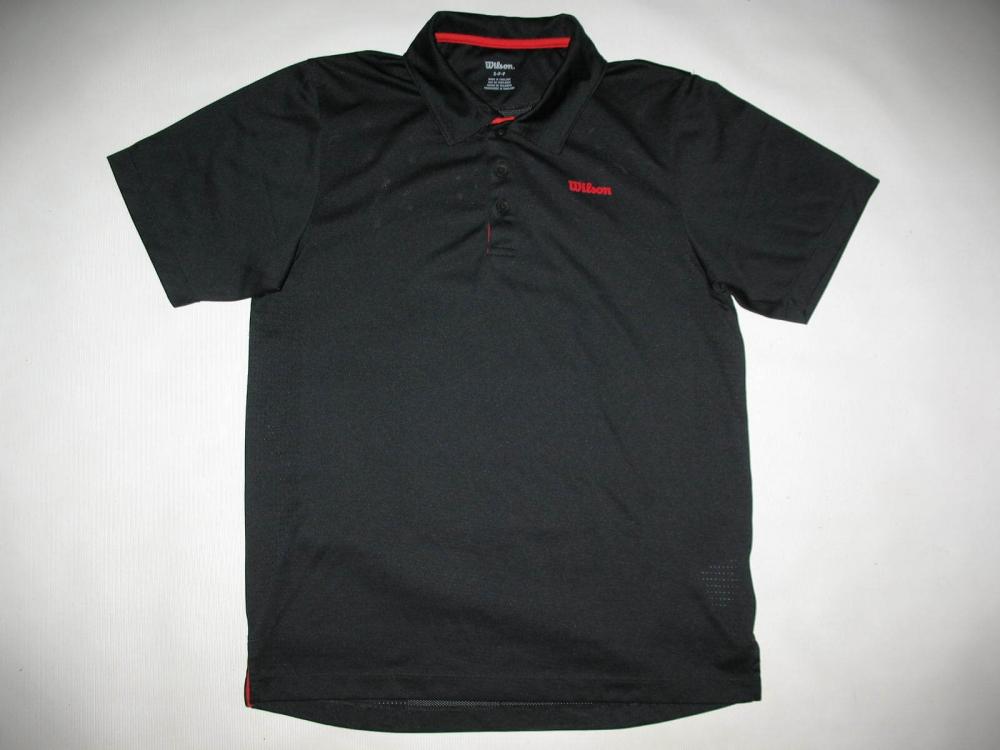 Футболка WILSON tennis polo shirt (размер S) - 2