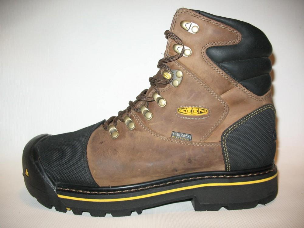 Ботинки KEEN milwaukee waterproof boots (размер US8/UK7/EU41(на стопу 260 mm)) - 3