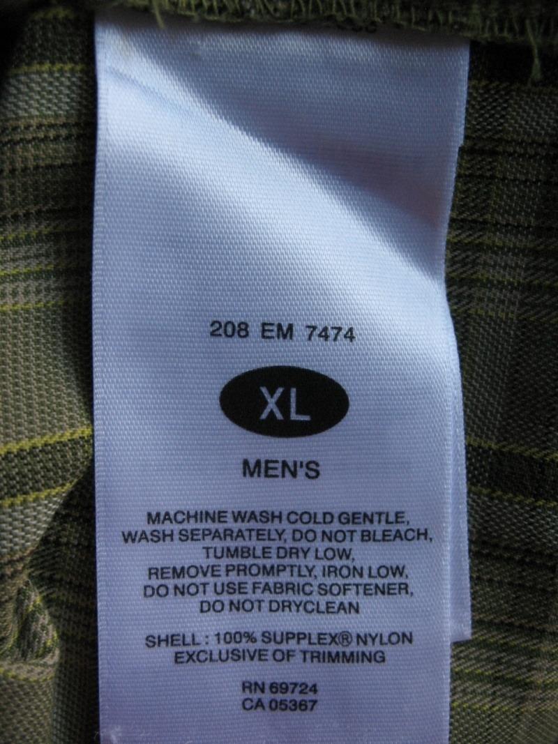 Рубашка COLUMBIA tianium shirt (размер XL) - 10